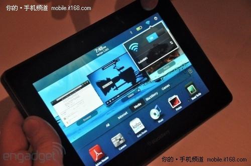 7寸双核极速体验 黑莓平板PlayBook解析