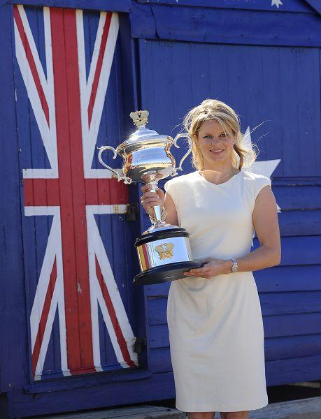 新科冠军与澳洲国旗