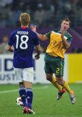 图文:亚洲杯澳大利亚获亚军 澳球员不满裁判