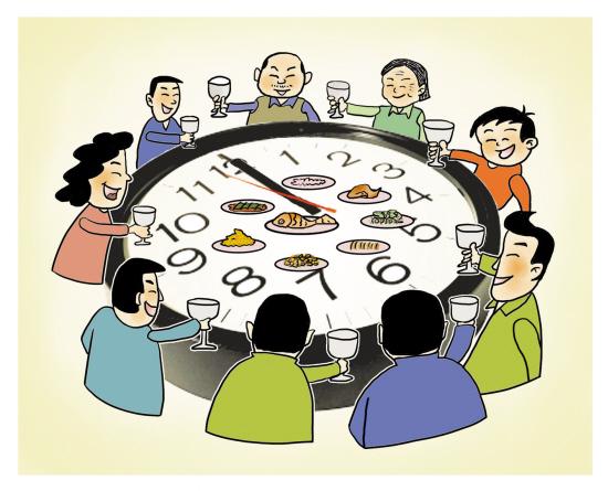 外出就餐虽然能省去准备饭菜和洗碗收拾的麻烦,但却带来了新的问题图片