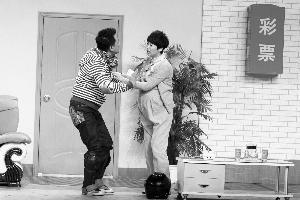 海清和黄海波首登春晚,表演小品《美好时代》。