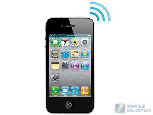 AT&T版iPhone 4即将加入无线热点功能