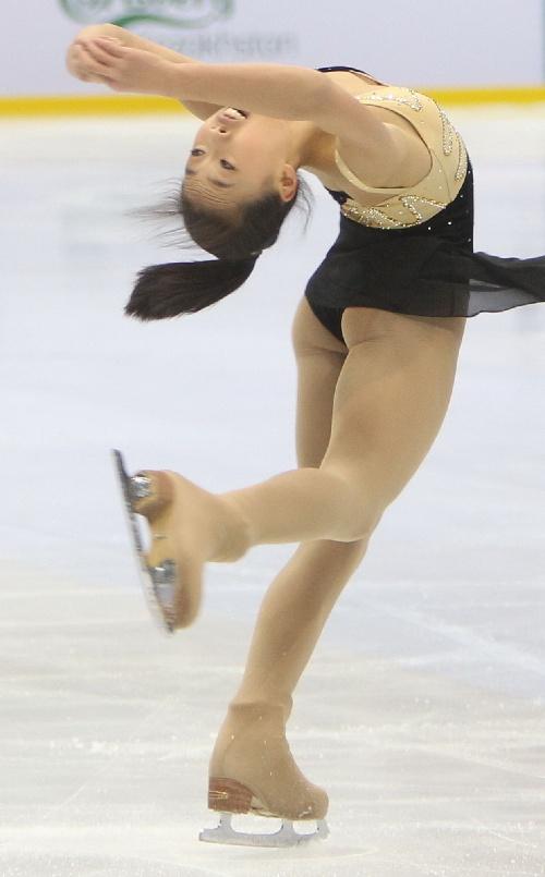 亚冬会花样滑冰――中国选手分列女单四