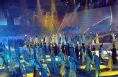 图文:第七届亚冬会闭幕 现场精彩文艺演出