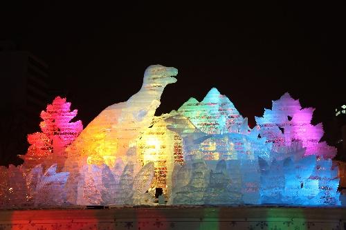 (国际)(5)第62届札幌冰雪节开幕图片