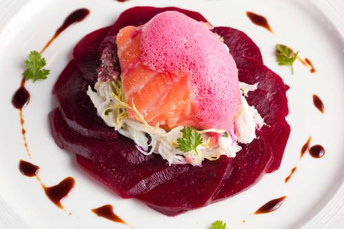 塔斯曼尼亚海鳟伴蟹肉沙律