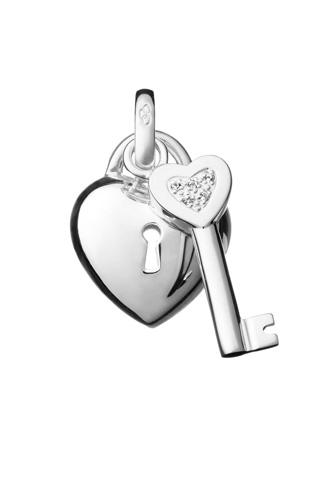 Locket & Key 吊饰