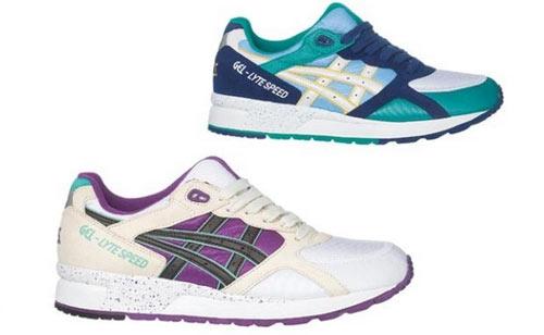 日本著名跑鞋品牌asics推出了2011