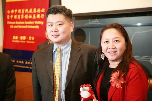 哈佛大学金李教授接受搜狐记者采访