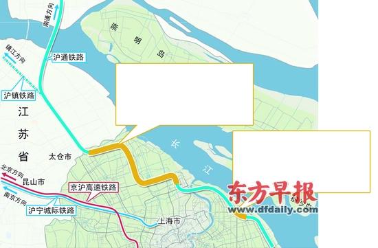 沪通铁路拟改道避让居民区