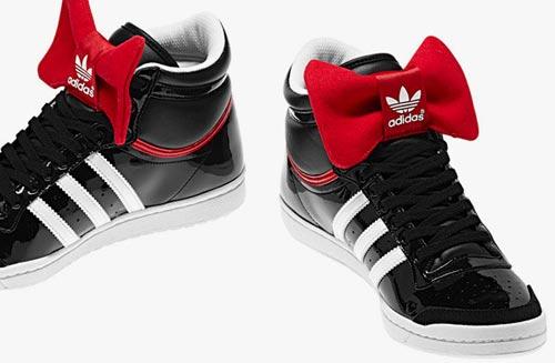 adidas Originals情人节特别版 活力绅士卡哇伊