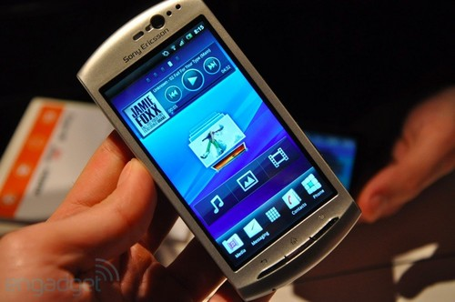 Android2.3 索尼爱立信Xperia Neo图赏