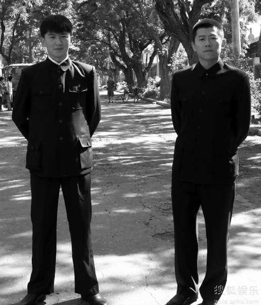 郭家铭(左)与夏雨