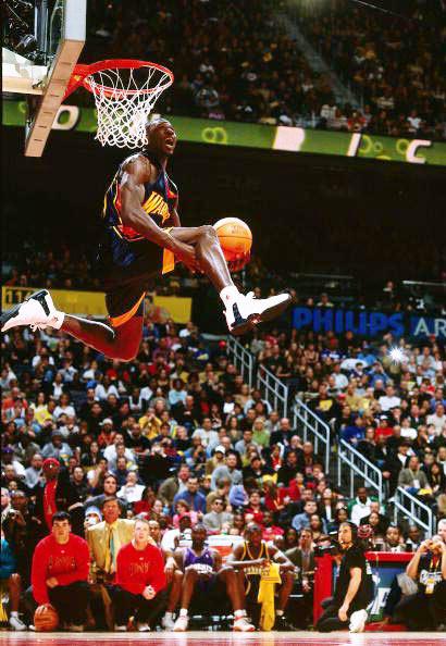 2003年亚特兰大全明星) 在NBA全明星扣篮大赛的历史上,只有两图片