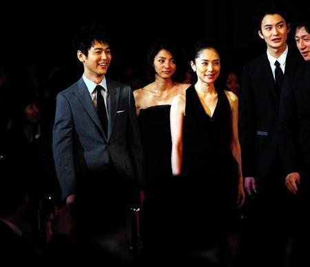 《恶人》男女主角妻夫木聪、深津绘里分获得最佳男女演员
