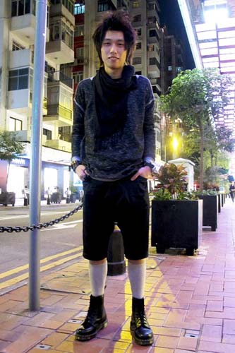 香港男装街拍