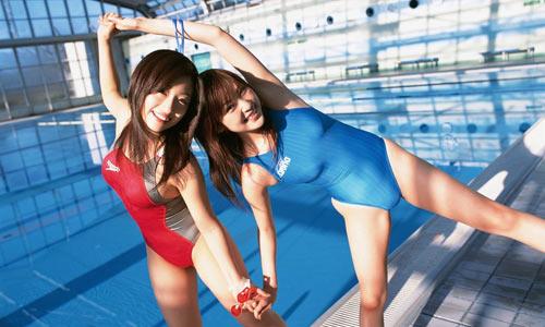 日本性感美女; 日本性感女星清凉泳装照特辑一;