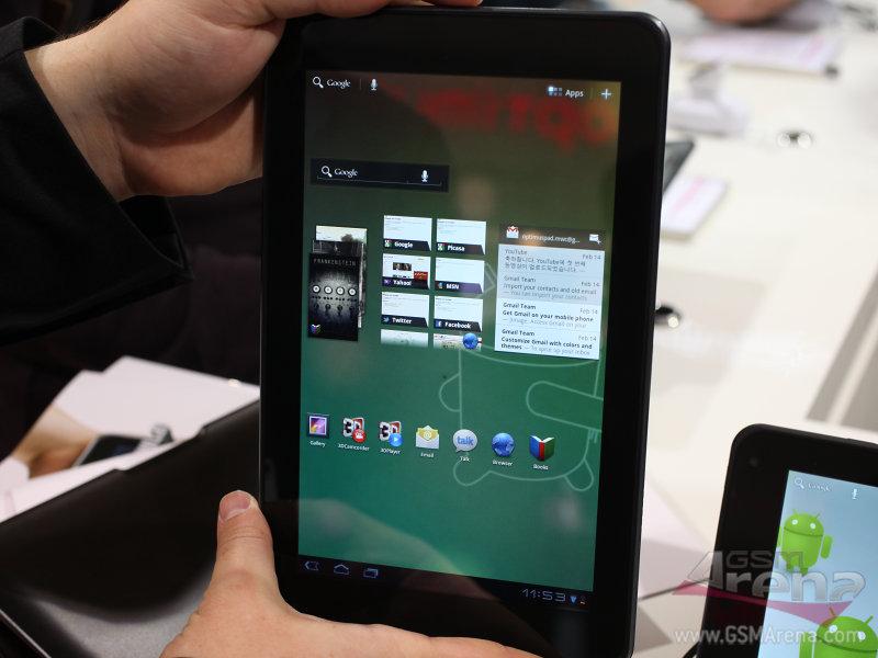 8.9寸双核平板 LG Optimus Pad美图赏