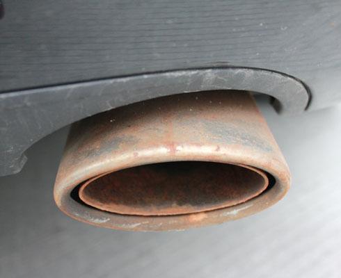 汽车排气管消声器图集 最新汽车排气管专题高清图片