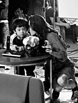 张柏芝精挑细选下,让儿子 Lucas客串电影《无价之宝》