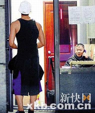 锦荣对蔡依林住所位置已是轻车熟路