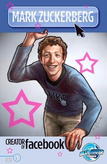 Facebook创始人扎克伯格漫画传记出版(图)-搜狐IT