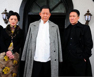 (左起)杨静、王志文、李幼斌