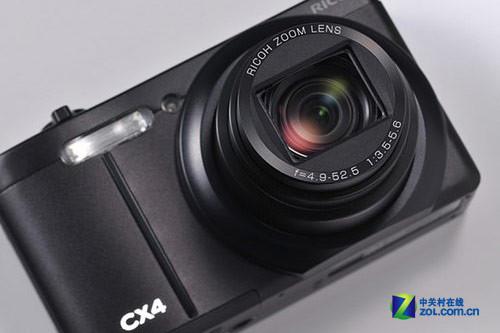 10.7倍光变 理光发布高清便携式新品CX4