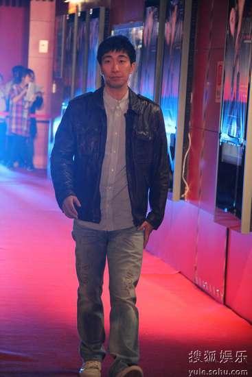 王千源出席《观音山》首映红毯