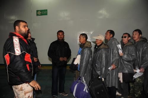 (国际)(7)利比亚海路撤侨进行时