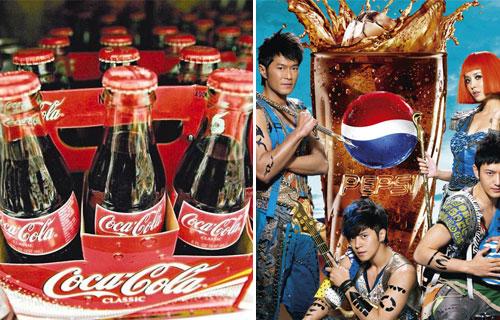 继续关注:可口可乐、百事可乐等