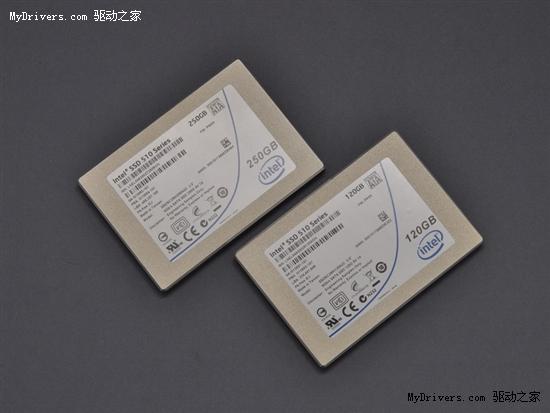 Intel首款SATA 6Gbps固态硬盘上市 拆解测试