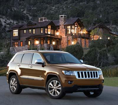 全新Jeep® Grand Cherokee大切诺基70周年特别纪念版