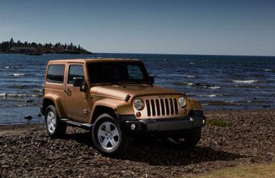 2011款Jeep® Wrangler牧马人70周年特别纪念版