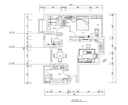 硬装4万打造90平米 强人自己设计地中海家(组图)图片