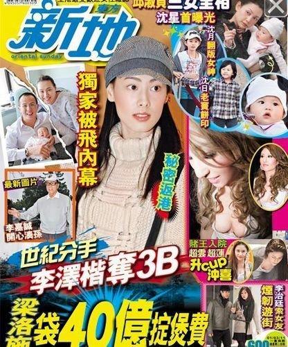 香港媒体关于梁洛施的报道