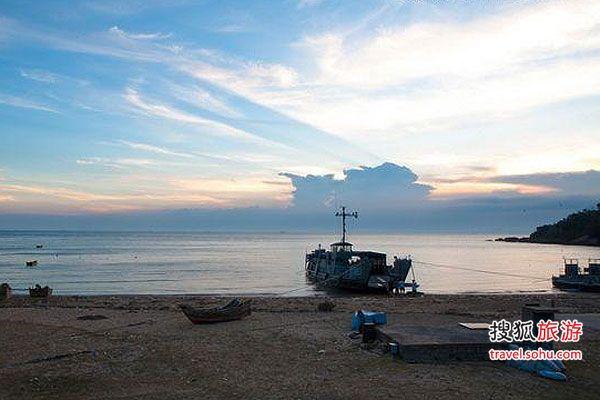 台湾旅游攻略       来到南竿的第一站就是马港天后宫,这是马祖岛上的图片