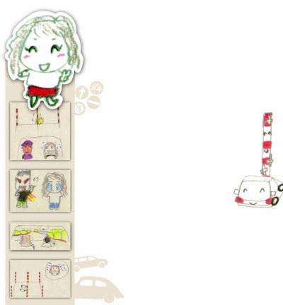 猪姐三国学车漫画走红学习有关用日记倒车的漫画定位车窗与图片