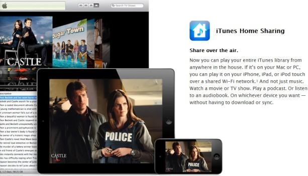 iTunes家庭共享增强