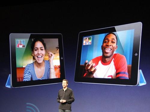 视频通话_ipad2进行facetime视频通话