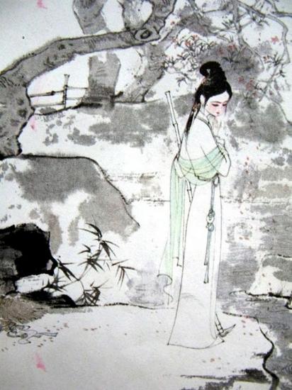 绘画的古代人物,上至屈原,苏东坡,下到红楼,聊斋,都形神兼备,颇有古