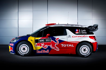 雪铁龙DS3 WRC