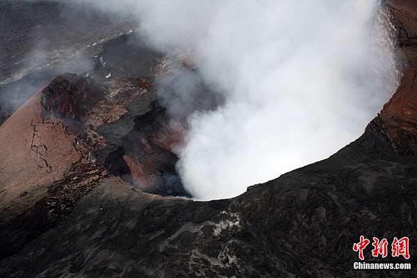 3月6日,夏威夷基拉韦厄火山的Pu