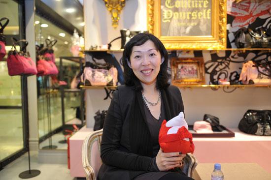 Juicy Couture大中华区总经理 Karen