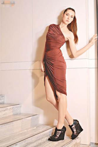 啡色dress $9,900