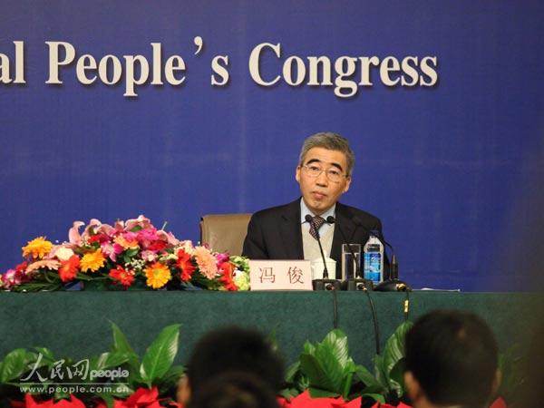 住房和城乡建设部住房保障司司长冯俊