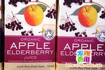 Life自家出品的有机果汁饮料,不添加人工甜味,接骨木果富含天然植物蛋白,有助改善皮肤状况