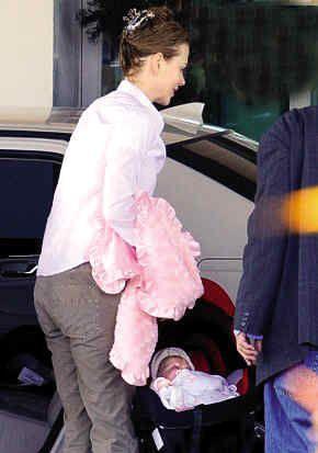 基德曼与小女儿