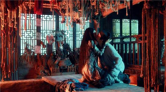 《倩女幽魂》刘亦菲吻余少群