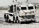 某部队秘密军用卡车曝光